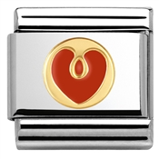 Nomination Red Heart Charm