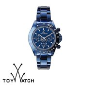 ToyWatch Metallic Chrono Blue