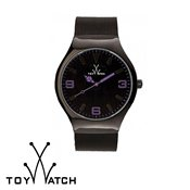 ToyWatch Mesh Black & Violet
