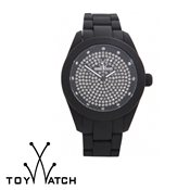 ToyWatch Velvety Full Pavé Black