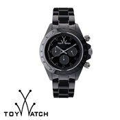 ToyWatch Monochrome Chrono Black