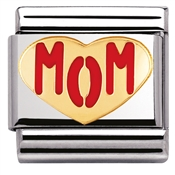 Nomination Mom Heart Charm