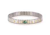 Nomination Extension Emerald Bracelet