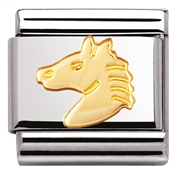Nomination Horsehead Charm