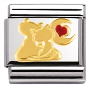 Nomination Cats In Love Charm