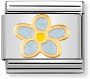 Nomination Forget Me Not Charm