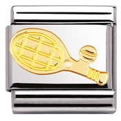 Nomination Tennis Racket Charm