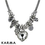 Karma Lavish Heart Necklace