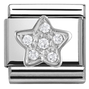 Nomination Cubic Zirconia Star Charm
