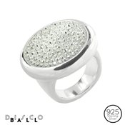 Argento Statement Crystal Ring