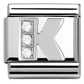 Nomination Cubic Zirconia K Charm