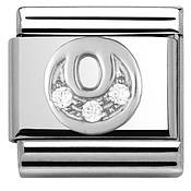 Nomination Cubic Zirconia O Charm