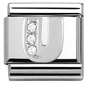 Nomination Cubic Zirconia U Charm