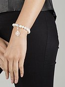 Thomas Sabo Pearl Charm Carrier Bracelet