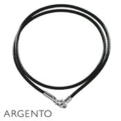 Argento Waxed Cord Necklace