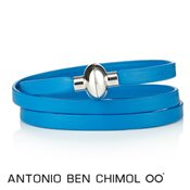 Antonio Ben Chimol Blue Colour Pop Rainbow Bracelet