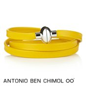 Antonio Ben Chimol Yellow Colour Pop Rainbow Bracelet