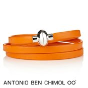 Antonio Ben Chimol Orange Colour Pop Rainbow Bracelet