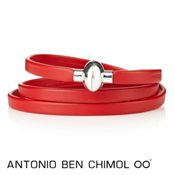 Antonio Ben Chimol Red Colour Pop Rainbow Bracelet