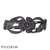 PILGRIM Desert Flower Hematite Bangle