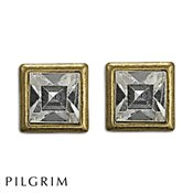 PILGRIM Pilgrim Gold & Crystal Earrings