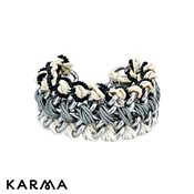 Karma Braided Chain Bracelet