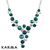 Karma Turquoise Drop Necklace