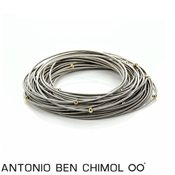 Antonio Ben Chimol Gold Masai Stacking Bracelet