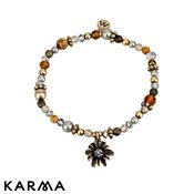 Karma Secret Garden Gold Beaded Bracelet