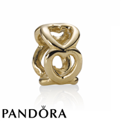 Pandora 14ct Open Heart Spacer