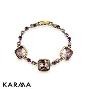Karma Decadent Jewels Gold Bracelet