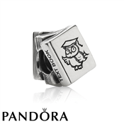 PANDORA Stack of Study Books Charm