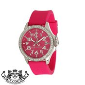 Juicy Couture Pink Jetsetter Watch