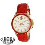 Juicy Couture Red Jetsetter Watch