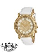 Juicy Couture White Queen Couture Watch