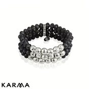 Karma Layer Beaded Bracelet