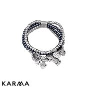 Karma Made with Love Charm Bracelet