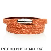 Antonio Ben Chimol Nibiru Orange Silver