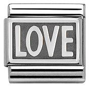 Nomination Oxidised Love Charm