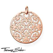 Thomas Sabo Rose Gold Ornamental Pendant