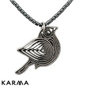 Karma Ethereal Beaded Bird Necklace