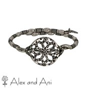 Alex and Ani Russian Silver Baraka Wrap Bangle