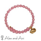 Alex and Ani Bohemian Jewel Blush Bangle