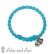 Alex and Ani Bohemian Jewel Sky Bangle