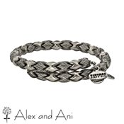 Alex and Ani Russian Silver Medina Wrap Bangle