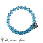 Alex and Ani Mirage Wrap Azure Bangle