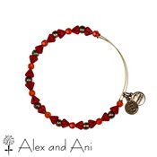 Alex and Ani Mosaic Hyacinth Bangle