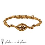 Alex and Ani Russian Gold Protective Eye Wrap Bangle