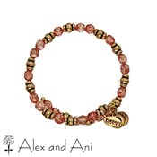 Alex and Ani Souk Wrap Rose Bangle