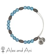 Alex and Ani Russian Silver Watercolour Sky Bangle